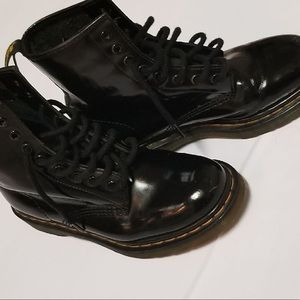 Dr Martens Smooth Boots Black Size 7
